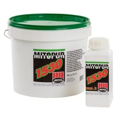 Клей для паркета Mitol Mitopur 1530 двухкомпонентный полиуретановый