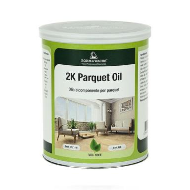 Hardwax Parquet Oil 2k - двухкомпонентный масло-воск
