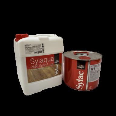 Sylaqua P890-SPORT (gloss100) - лак полиуретановый паркетный водорастворимый двухкомпонентный (5л + 1.5л)