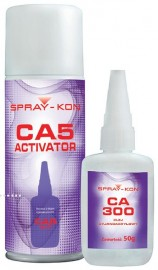 Цианоакрилатний клей CA300 / CA1000 Упаковка 50 г