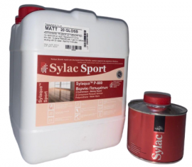 Sylaqua P880-SPORT - лак полиуретановый паркетный водорастворимый двухкомпонентный