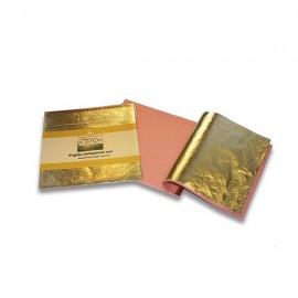 Поталь в листах, цвет золото IMITATION GOLD LEAF