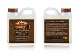 Реактивный грунт AWO Reactive stain - индивидуальный эффект