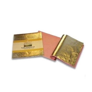 Поталь в листах, колір золото IMITATION GOLD LEAF
