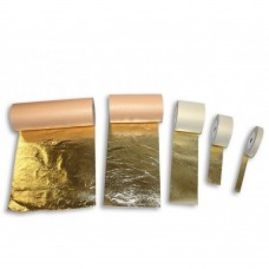 Поталь в рулонах, кольори золото, срібло IMITATION ROLL GOLD, SILVER