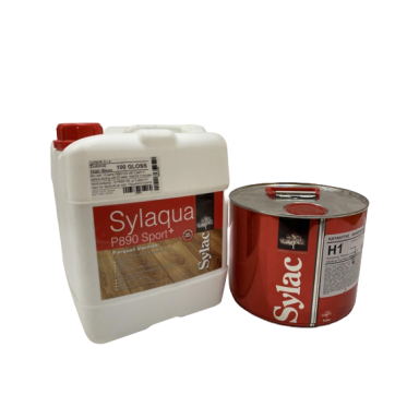 Sylaqua P890-SPORT (gloss100) - лак поліуретановий паркетний водорозчинний двохкомпонентний (5л+1.5л)