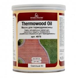 Масло для термодеревини, Thermowood oil
